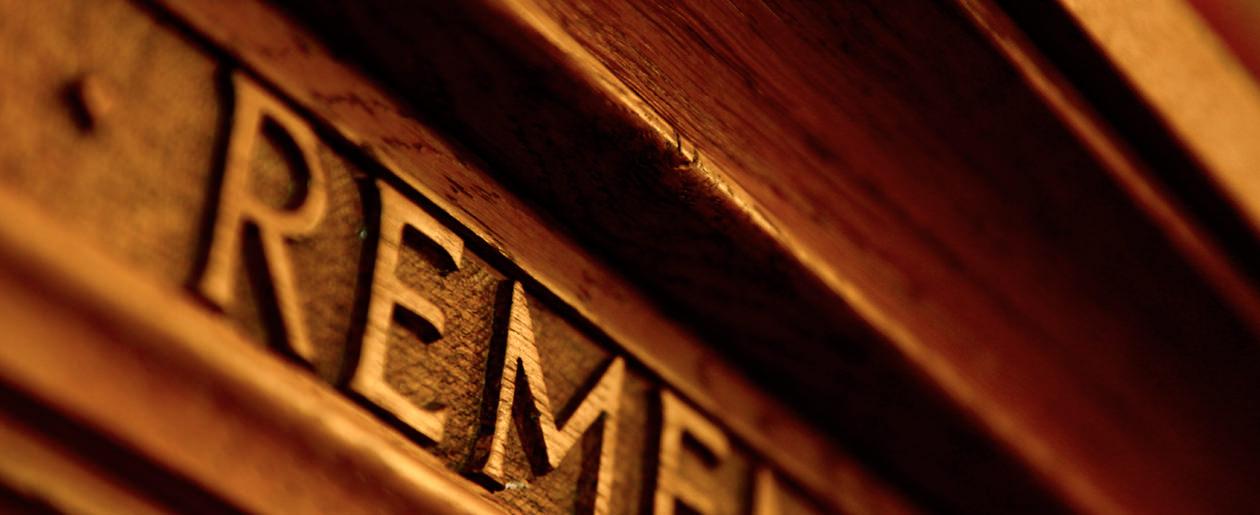 A closeup shot of a lectern at NTC