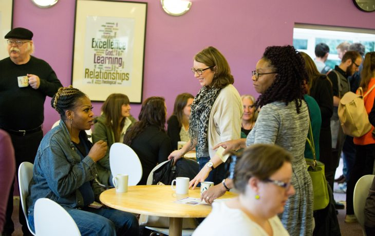 Students in the Cafe
